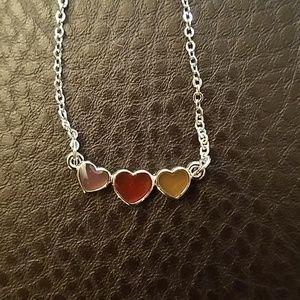 Lia sophia heart necklace-NWT